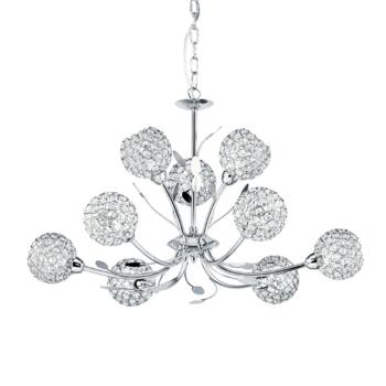 Bellis II Ceiling Light - 9 Light 5579-9CC  - Chrome Finish