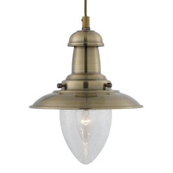 Fisherman Ceiling Light - Pendant Light 5787AB - Antique Brass