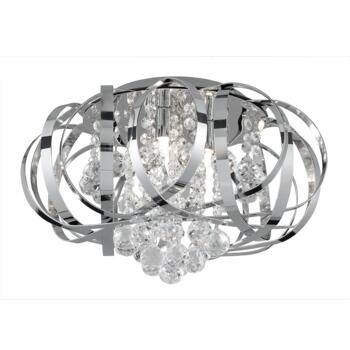 Tilly Semi-Flush Ceiling Light - 3 Light 5973-3CC - Chrome