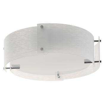 Madison Flush Ceiling Light - 3 Light 6044-44 - Chrome Finish