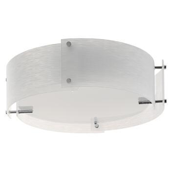Madison Flush Ceiling Light - 3 Light 6044-44 - Chrome Finish
