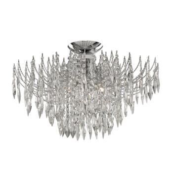 Waterfall Crystal Ceiling Light - 4 Light 6134-4CC - Chrome