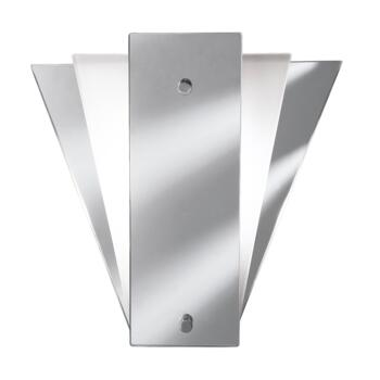 Wall Light - Mirror Chrome / Glass Wall Light 6201 - Mirror Chrome