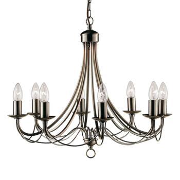 Maypole Ceiling Light - Ant Brass 8 Light 6348-8AB - Antique Brass