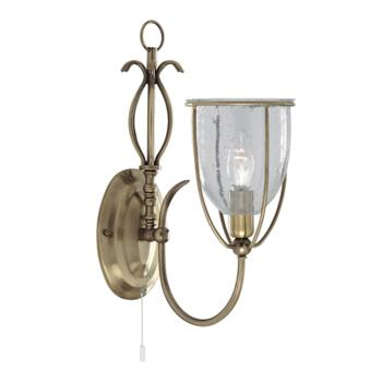 Silhouette Wall Light - Single Light 6351-1AB - Antique Brass