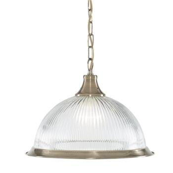 American Diner Pendant Light - Antique Brass 9369 - Antique Brass