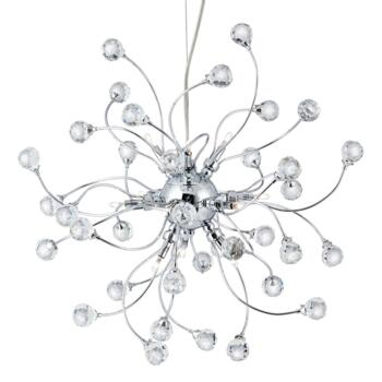 Sonja 12 Light Ceiling Pendant - 6629-12CC - Chrome