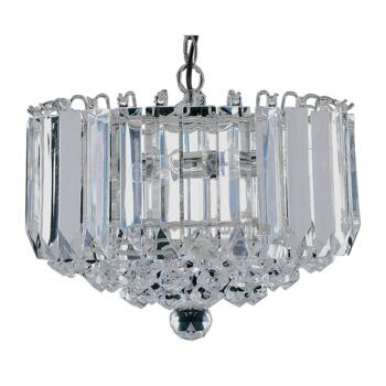 Sigma Chandelier Ceiling Light - 4 Light 6715CC - Chrome