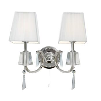 Portico Wall Light - 2 Light 6882-2CC - Chrome