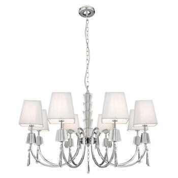 Portico Ceiling Light - 8 Light 6888-8CC - Chrome
