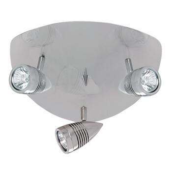 Falcon Spotlight - 3 Light Triangular 693SS - Satin Silver