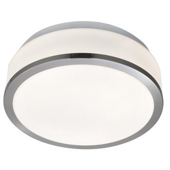 Flush Ceiling Light - 2 Light Flush 7039-23SS - Satin Silver