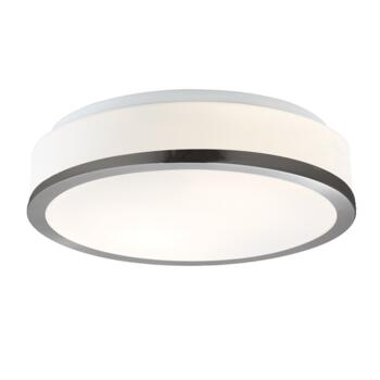 Flush Ceiling Light - 2 Light Flush 7039-28SS - Satin Silver