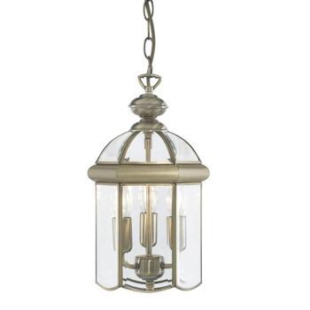 Hall Lantern - Antique Brass 7133AB 3 Light - Antique Brass