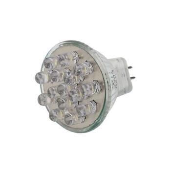 MR11 LED Lamp - 1.2W Cluster LED-MR11 - White