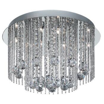 Beatrix Ceiling Light - 8 Light 8088-8CC - Chrome Finish