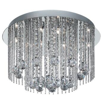 Beatrix Ceiling Light - 8 Light 8088-8CC - Chrome Finish