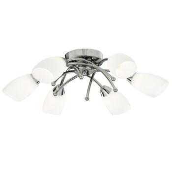 Opera Ceiling Light - 6 Light Halogen 8186-6CC - Chrome
