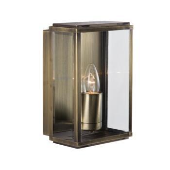 Outdoor Wall Light - Coach Light 8204AB - Antique Brass Finish