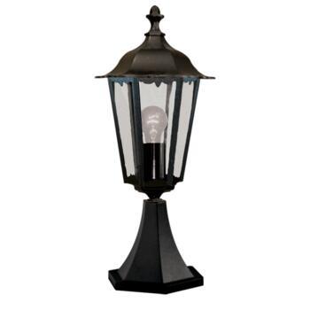 Alex Outdoor Post Light - Garden Light 82503BK - Black Cast Aluminium
