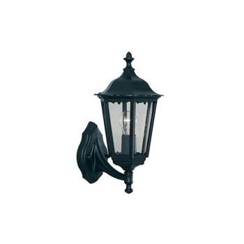 Alex Outdoor Wall Light - Garden Light 82530BK - Black Cast Aluminium