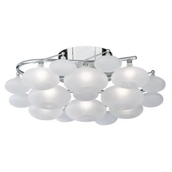 Dulcie Ceiling Light - 8 Light Flush 8408-8CC - Chrome
