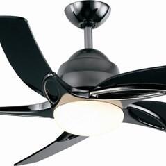 "Fantasia Viper Ceiling Fan - Pewter (Black Nickel) - 54"" (1370mm)"