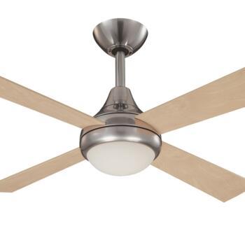 "Fantasia Sigma Ceiling Fan Light - Stainless Steel - 42"" (1070mm)"