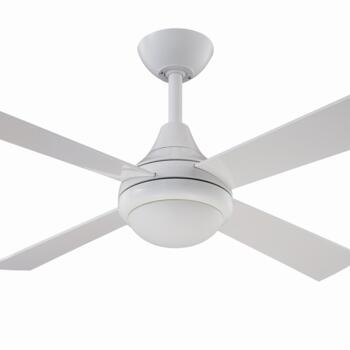 "Fantasia Sigma Ceiling Fan with Light - White - 42"" (1070mm)"