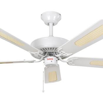 "Fantasia Classic Ceiling Fan - White - 52"" (1320mm)"