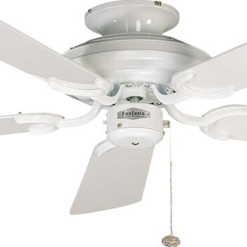 "Fantasia Mayfair Ceiling Fan - White - 42"" (1070mm)"