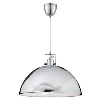 Metal Pendant Ceiling Light  - Chrome Finish