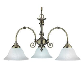 Virginia Ceiling Light - 3 Light 9353-3 - Antique Brass
