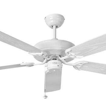 "Fantasia Medina White Ceiling Fan - 52"" - 115342"