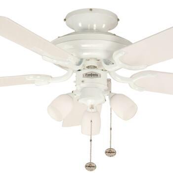 "Fantasia Mayfair Combi Ceiling Fan - White - 42"" (1070mm)"