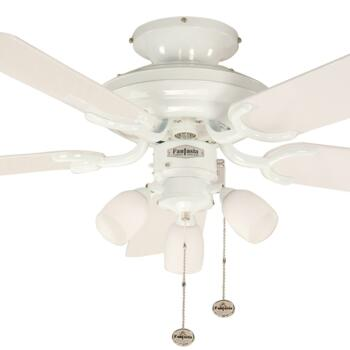 "Fantasia Mayfair Combi Ceiling Fan - White - 42"" (1070mm)"