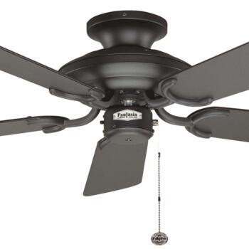 "Fantasia Mayfair Ceiling Fan - Matt Black - 42"" (1070mm)"
