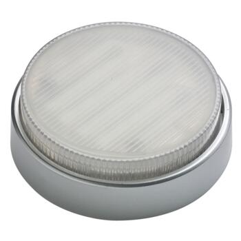 Mini-Circ Surface Mount Straight Base Downlight - Satin Silver