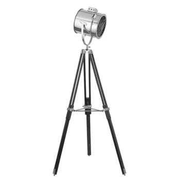 Stage Floor Lamp -  Chrome/Black  3013 - Black / Chrome