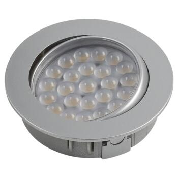 LED Tilt Cabinet Downlight - Warm White