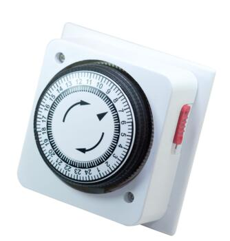 Mechanical Immersion Heater Timer - White