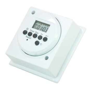 Digital Immersion Heater Timer - White