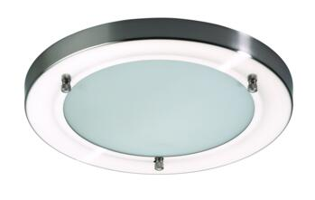 Canis Large Flush Fitting IP44 56W - Glass