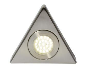Fonte LED Triangular Cabinet Light IP44 1.5W 240V - Cool White