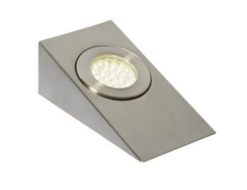 Lago LED Wedge Cabinet Light IP44 1.5W 240V - Cool White