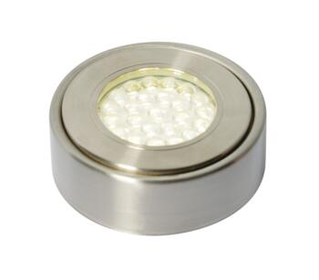 Laghetto LED Circular Cabinet Light IP44 1W 240V - Cool White