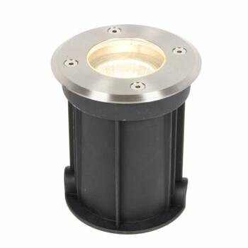 Pan 110mm Stainless Steel Drive Over Light IP65 GU10 - Fitting