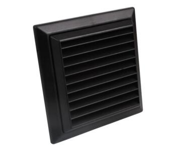 Black Vent Air Cover Ventilation Grill