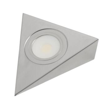Triangle Undershelf LED COB Downlight - 3W 12V  - 1 Fitting With Warm White LED 260lm