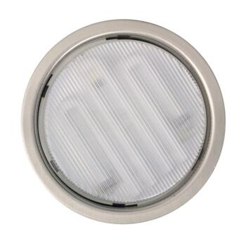 Mini-Circ Recessed Metal Undershelf Downlight -  Stainless Steel